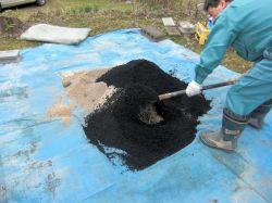 トリコデルマ菌 活性炭 トウモロコシ